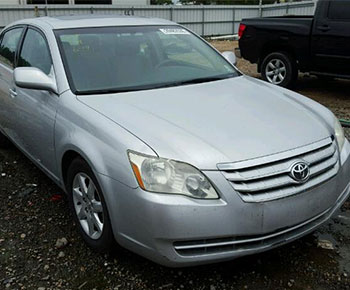 Recently Purchased Toyota Avalon