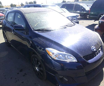 Recently Purchased Toyota Matrix